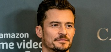 Orlando Bloom was celibate for six months before he started dating Katy Perry