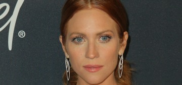 Would you like to see Brittany Snow's rainy-Malibu wedding photos?