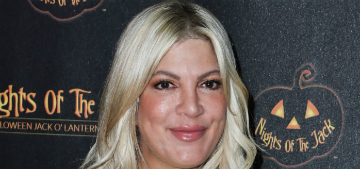 Tori Spelling apologizes for posting racist photo of her daughter