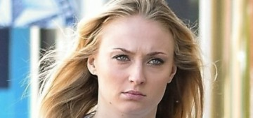 Sophie Turner throws shade at the moronic Evangeline Lillys of the world