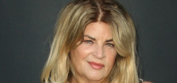 Kirstie Alley not only belongs to the Scientology cult, she's also in the MAGA cult