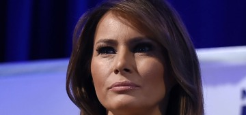 Melania Trump 'got tested' at the same time as her husband, and she's 'fine'