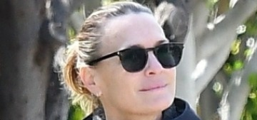 Robin Wright lives her best quarantine life with her hot, younger husband