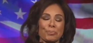 Jeanine Pirro denies being drunk as a skunk live on Fox News, which is a drunken lie