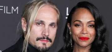 Zoe Saldana: Every minute with three sons is just about stopping fights & arson