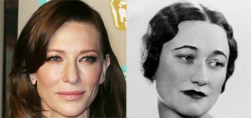 Should Cate Blanchett be cast as Wallis Simpson, the Duchess of Windsor?