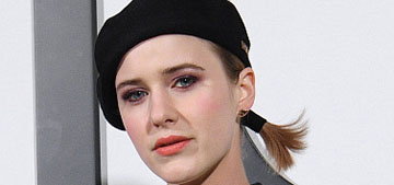 Rachel Brosnahan tries to get her dog to do yoga: best at-home content?