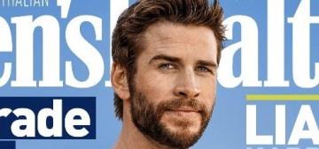 Liam Hemsworth & his amazing arms are so hot in Men's Health