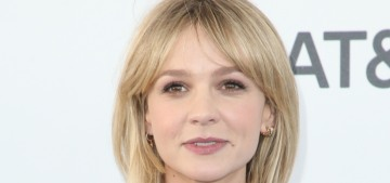 Carey Mulligan doesn't miss her single, childfree life & hasn't been in a bar in years