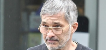 Olivier Martinez currently looks like a baguette-carrying Christoph Waltz??