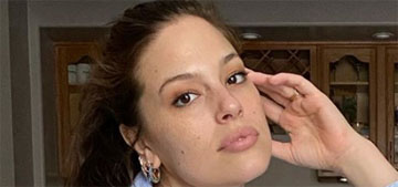 Ashley Graham puts on a full face of makeup for video chats, same