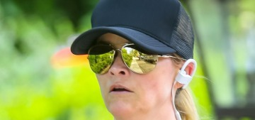 Reese Witherspoon went for a jog: how are you working out in the lockdown?