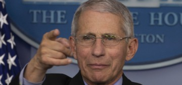 Dr. Anthony Fauci: When this is all over, we should stop shaking hands permanently