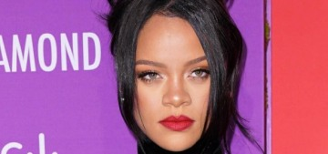 Don't ask Rihanna about her album while she's 'tryna to save the world'