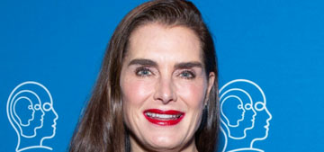 Brooke Shields is trying to cook in isolation after not bothering before, same