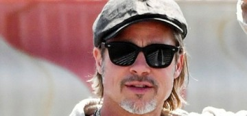 Was Brad Pitt's appearance on HGTV's 'Celebrity IOU' anything notable?