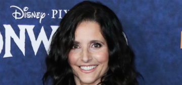 Julia Louis-Dreyfus: seeing a beach closed for pollution was shocking