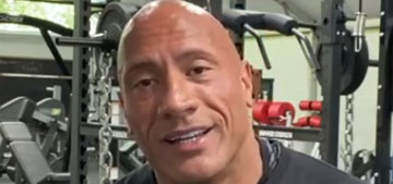 The Rock: Taking a picture or signing an autograph is one of the easiest parts of my job