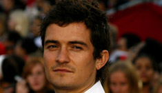 Orlando Bloom tried to walk away from the scene of the accident