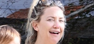 Kate Hudson celebrated her 41st birthday with a drive-by toast in LA