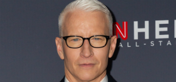 Anderson Cooper's home haircut did not go well at all