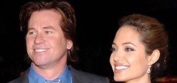 Val Kilmer details his friendship with & crush on Angelina Jolie in his memoir