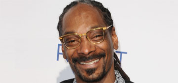 Snoop Dogg's favorite cereal: Cap'n Crunch with the berries