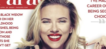 Scarlett Johansson: 'Since an early age, I've been rejected constantly'
