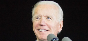 Hillary Clinton endorsed Joe Biden during a very odd moment in his campaign