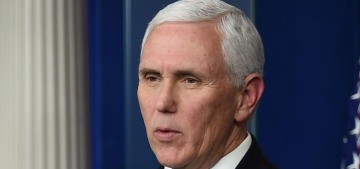 Mike Pence went mask-free while visiting medical staff & patients at the Mayo Clinic