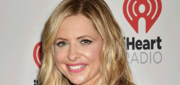 Sarah Michelle Gellar dyed her hair pink: cute change?