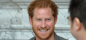 Prince Harry abandoned one of his British patronages & pearls are being clutched!