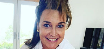 Savannah Guthrie worked with her colorist to dye her hair at home