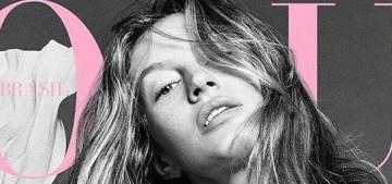 Gisele Bundchen's Vogue Brazil covers are very odd: Photoshop or surgery?