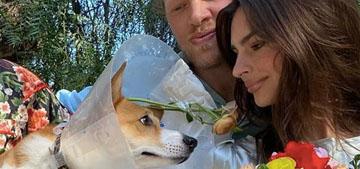 Emily Ratajkowski hosted a wedding for her dog and the neighbor's dog