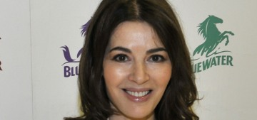 Nigella Lawson was 'too distracted to cook' during the early days of lockdown