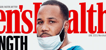 Men's Health is featuring #healthcareheroes, will more magazines do this?