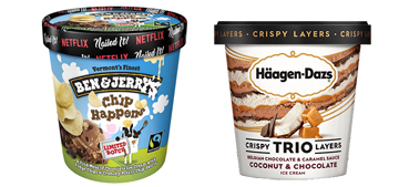 Ben and Jerry's has a new ice cream with chips in it, what's your favorite?