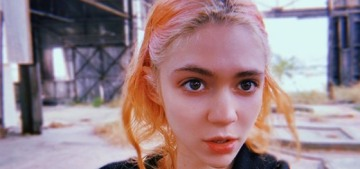 Grimes confirms that she & Elon Musk really did name their baby X Æ A-12 Musk