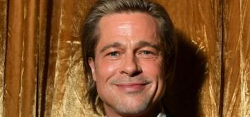 Brad Pitt & Alia Shawkat are still 'hanging out plenty' during the quarantine