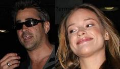 Colin Farrell's girlfriend Alicja Bachleda-Curus is probably pregnant