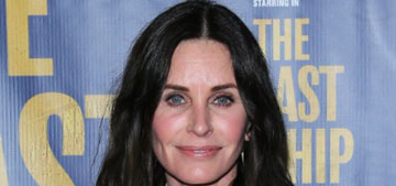 Courteney Cox: 'I'm cooking so much, I'm exhausted from cooking'