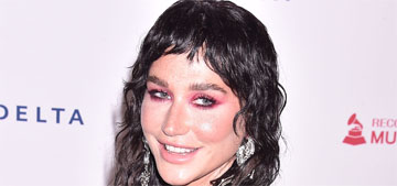 Kesha puts beard dye on her eyebrows: 'It makes them dark and wild-looking'