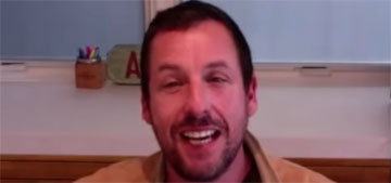 Adam Sandler is only eating for 6 hours in the day 'but I eat so much'