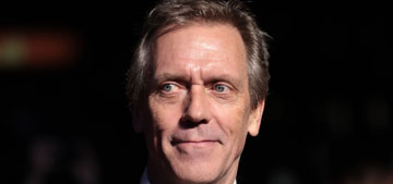 Hugh Laurie on anti-lockdown protesters in England: they don't have automatic guns