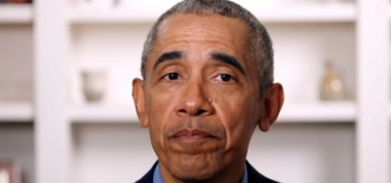 Barack Obama: The pandemic tore back the curtain that people in charge are competent