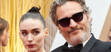 Rooney Mara & Joaquin Phoenix are expecting their first child & she's far along?