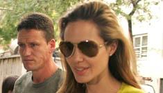 Is Angelina getting in vitro fertilization?
