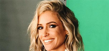 Kristin Cavallari announces that her show is over, frames it like it was her decision