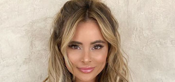 Amanda Stanton of The Bachelor drove from CA to AZ to get her hair done